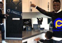 Ghanaian football star Dominic Adiyiah buys a mansion in London worth GH¢1.8 Million [Photos]