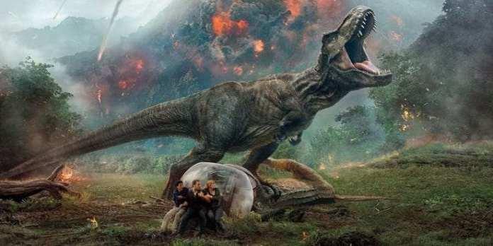 Jurassic World movie cover
