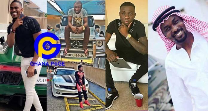 Meet the 9 most popular alleged Sakawa (Scammers) men in Ghana