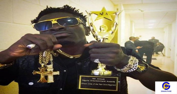 Shatta Wale Awards3 - I was poor those days because I was respectful – Shatta Wale