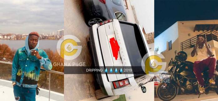 Shatta Wale buys a brand new Range Rover as a new year present