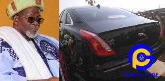 New Yaa-Naa, Abukari Mahama II receives customized Jaguar from Nana Addo [Photos]