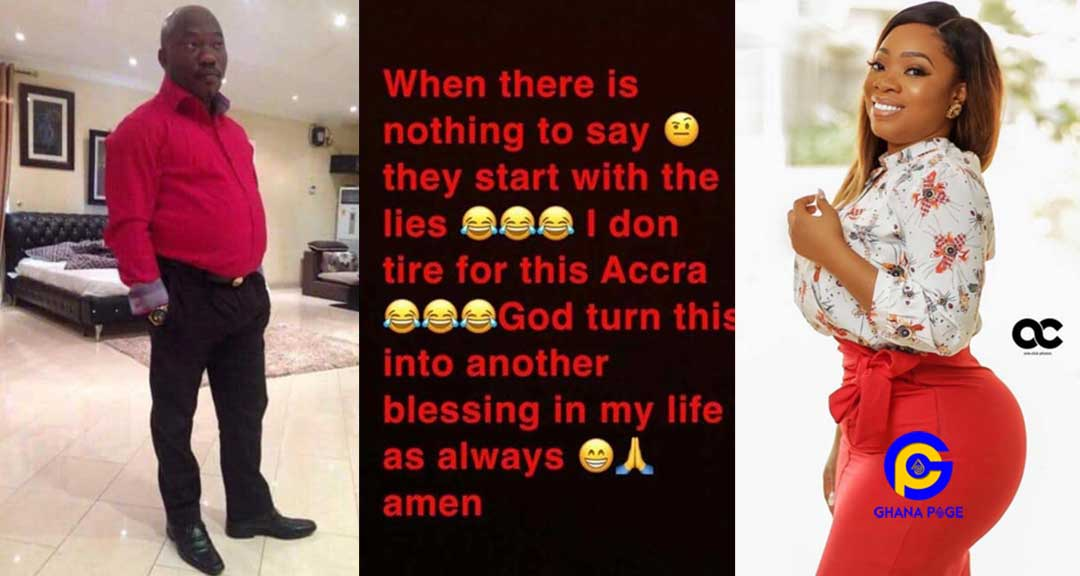 Photos: Moesha Boduong reacts to contracting HIV from fmr Shatta Wale's boss, Aik Livingstone Abani