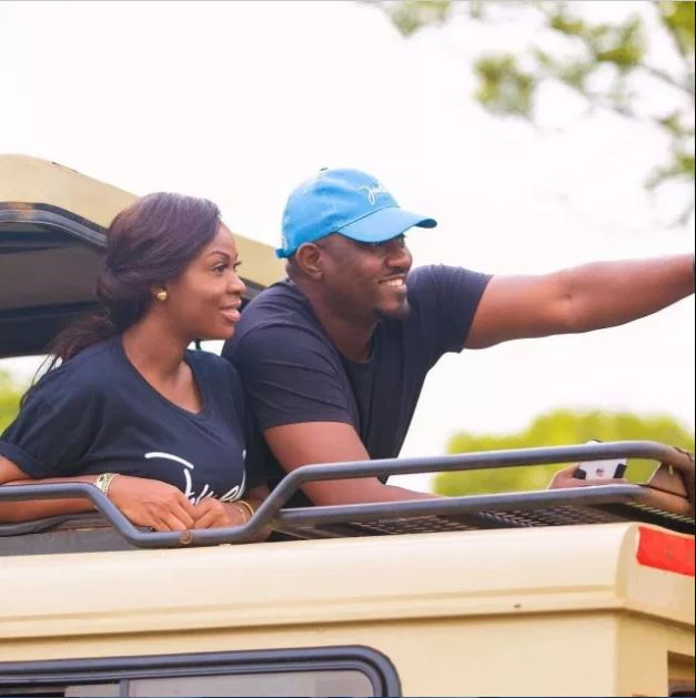 John Dumelo's wife Mawunya sends lovely birthday message to her hubby