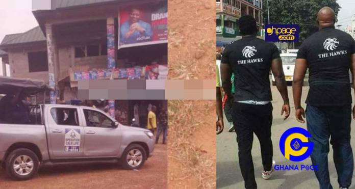 Just In: NDC hawks fire gunshots at NDC Regional meeting; one person dead, others injured