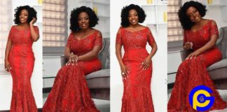 Nana Aba Anamoah voted the most beautiful celeb on Val's Day