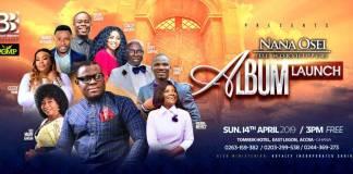 Gospel artist Nana Osei De Worshipper set to launch his maiden album on 14th April 2019