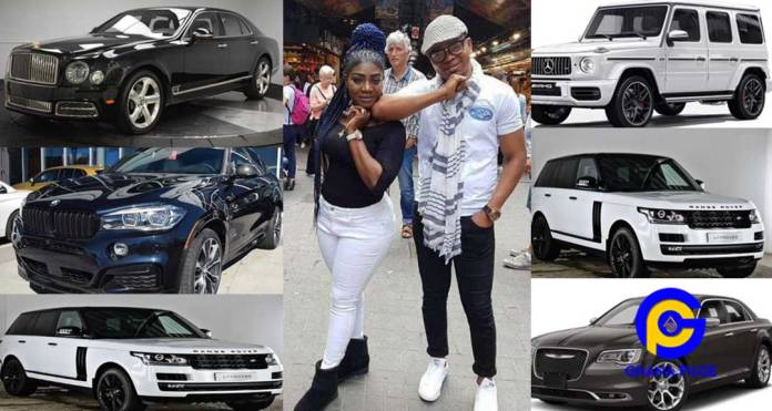 Angel Obinim dashes 14 luxury cars to his workers and wife