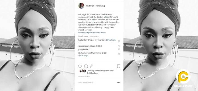 'God comforts us in all our troubles' - Shatta Michy