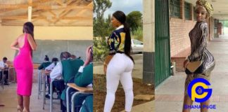 SEE: Photos of a young female teacher with a huge Plantation Backside set social media on fire