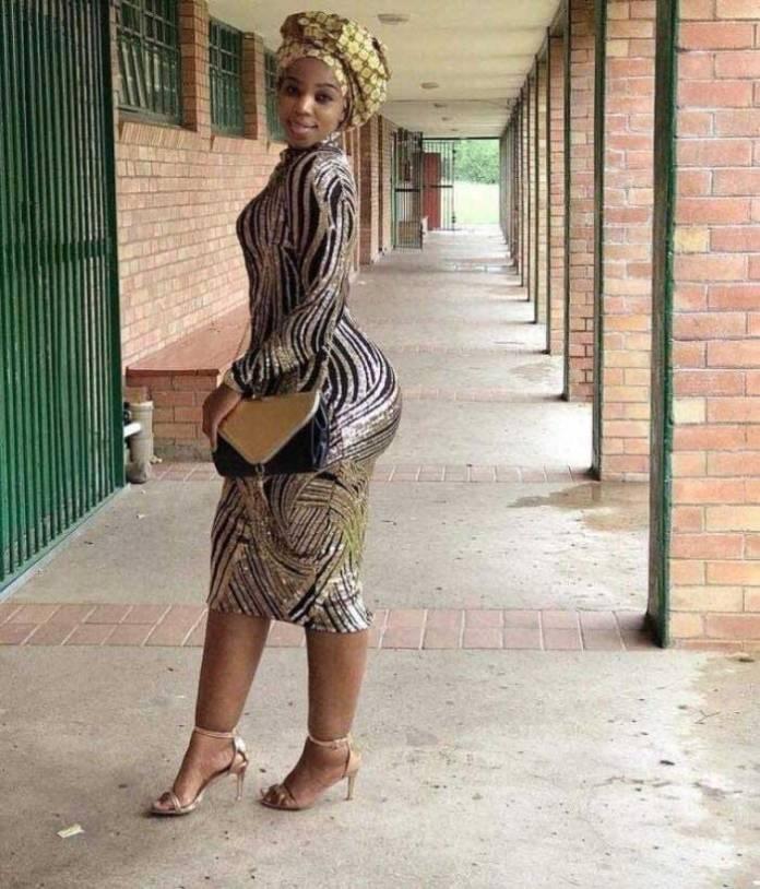 Female Teacher With Huge Backside