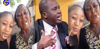 Video:'Stupid animal; how dare you insult my family'- Akuapem Poloo's mum insults Lutterodt