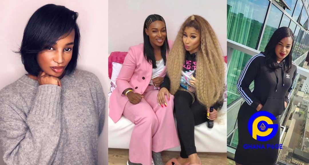 Ghanaian Musician Nana Fofie 1 - Nicki Minaj on tour with Ghanaian musician, Nana Fofie