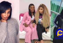 Nicki Minaj on tour with Ghanaian musician, Nana Fofie - heaps praises on her talents [Photos]