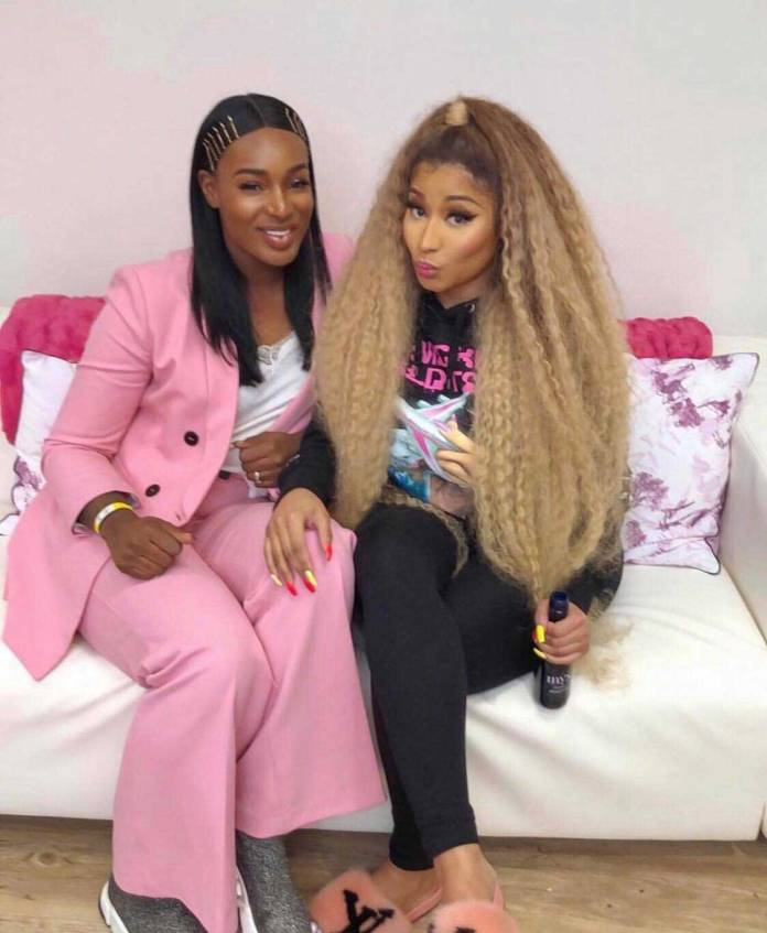 Ghanaian Musician Nana Fofie 2 - Nicki Minaj on tour with Ghanaian musician, Nana Fofie