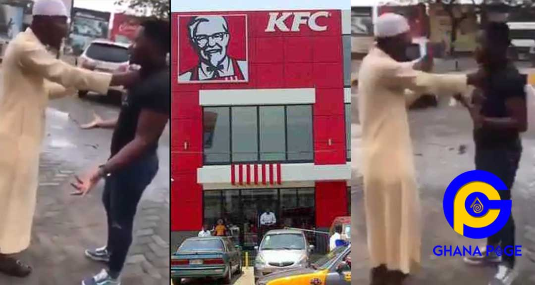 Video: Assault on the film director at KFC by the insecure Zongo boys-Here's what really happened