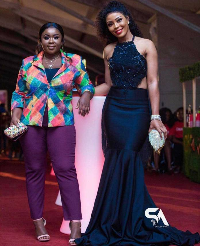 Maame Serwaa Baby Blanche - 3 Music Awards 2019: All the red carpet moments you missed