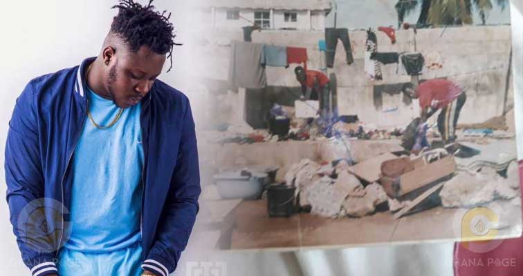 Medikal story - Medikal shares touching story of how life treated him and his family six years ago