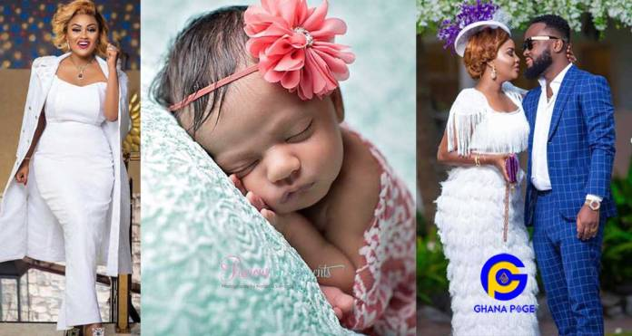 Just In: Empress Nana Ama Mcbrown gives birth in Canada - Her first child with Maxwell Mensah