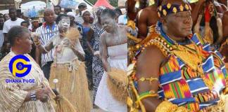 Photos: 250 river gods assembled at Manhyia Palace to celebrate Otumfuo's 20th-anniversary