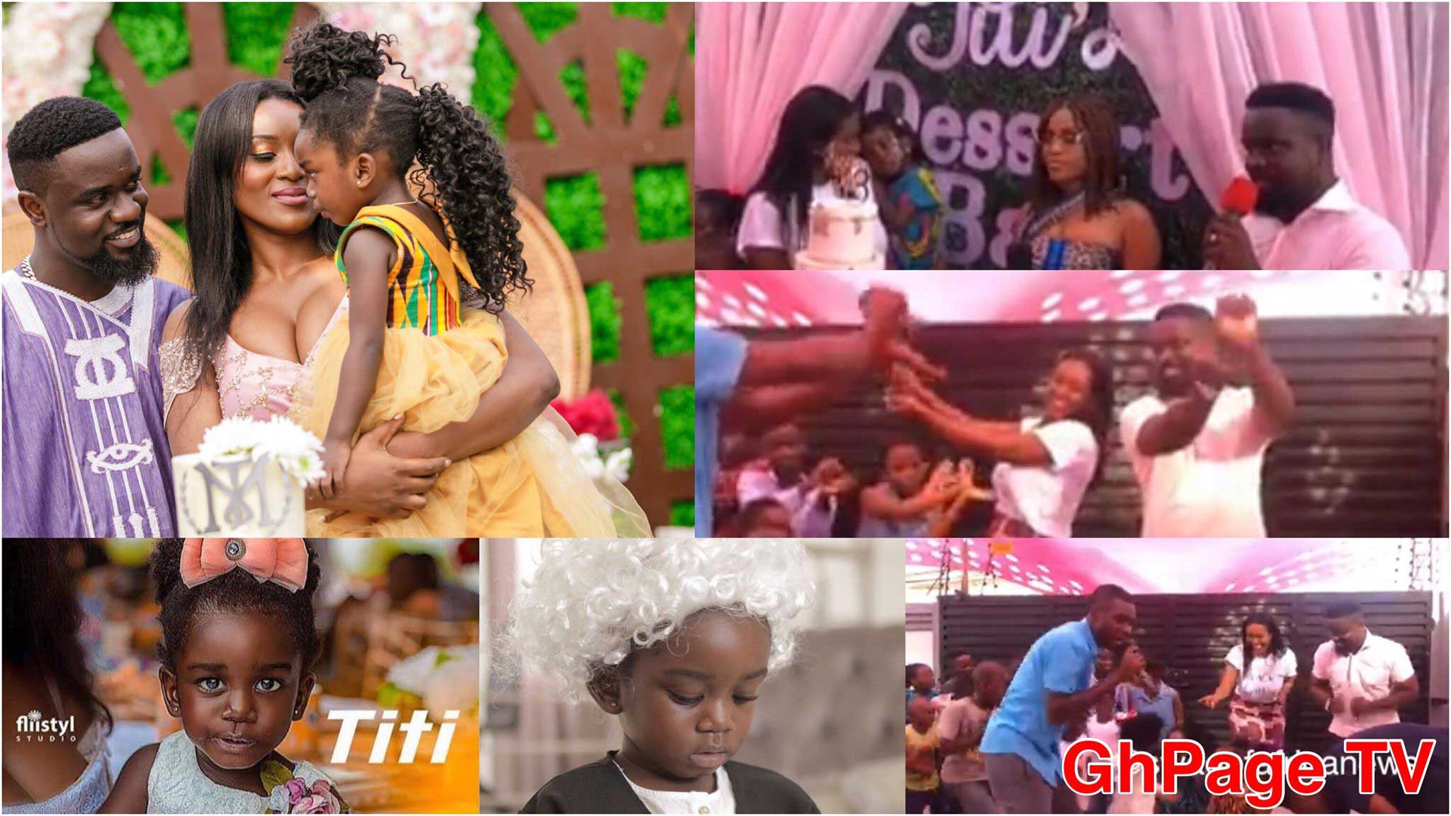 Sarkodie daughter Titi Tracy - Exclusive video from Sarkodie's daughter, Titi's birthday party