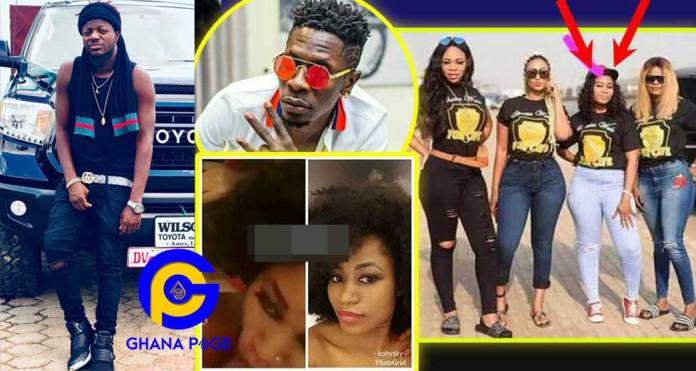 Pope Skinny blows cover of the married woman who gave Shatta Wale BJ in the famous leak video