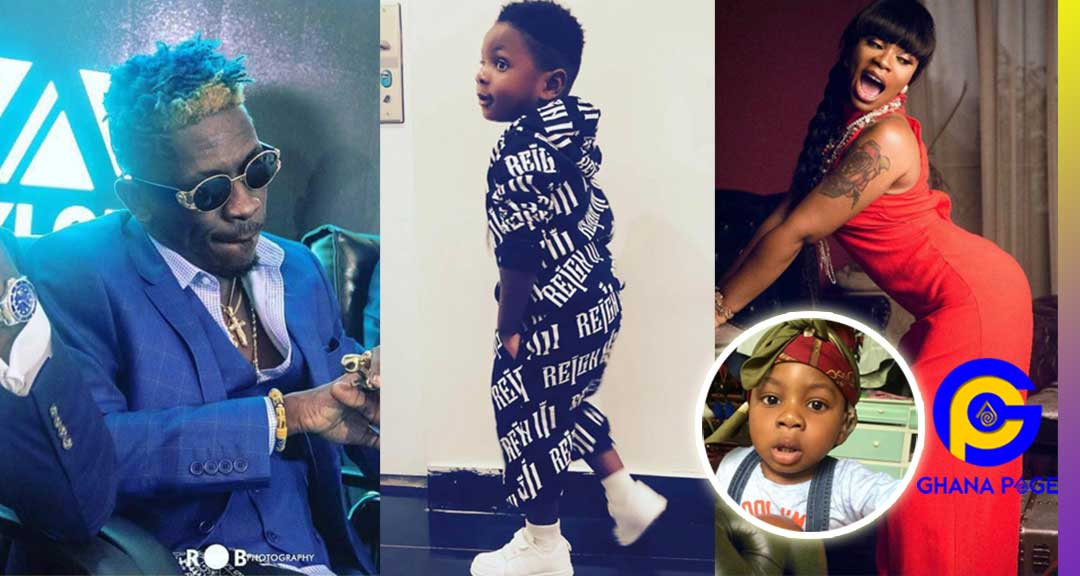 If Shatta Wale pimp Michy to other men then who is the father of Majesty? -Social Media users ask