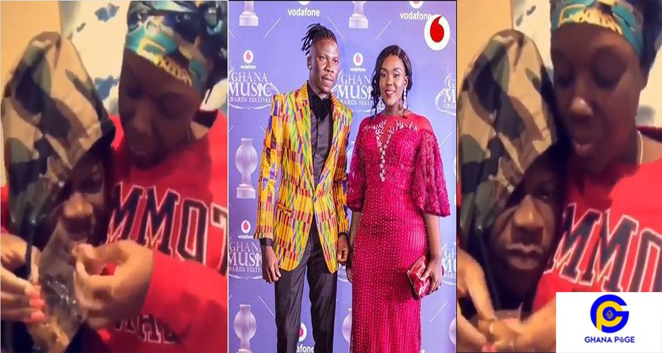 Stonebwoy Dr Louisa3 - Marriage Goals: Dr Louisa feeds husband Stonebwoy in a romantic style