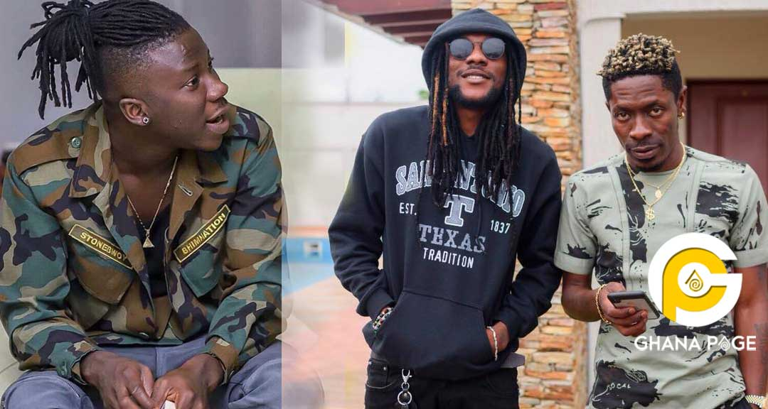 Addi Self Shatta Wale Stonebwoy - Addi Self's ridiculous reaction to Stonebwoy's new deal with Samsung Gh
