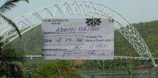 Ghana Tourism Authority now charges for selfies on Adomi Bridge