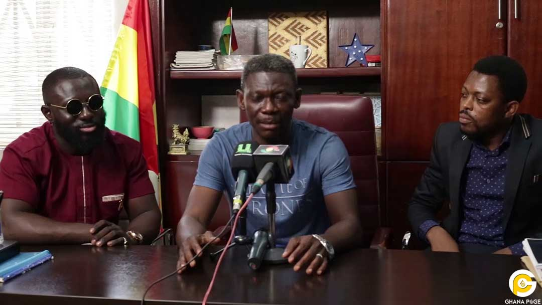 Agya Koo Press - I went through financial challenges when I was sidelined -Agya Koo
