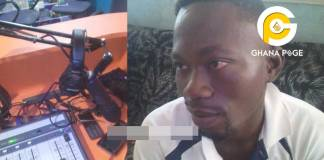 """Angry fire service officers beat up journalist, destroy FM studio over """"April Fool"""" prank at Nkoranza"""