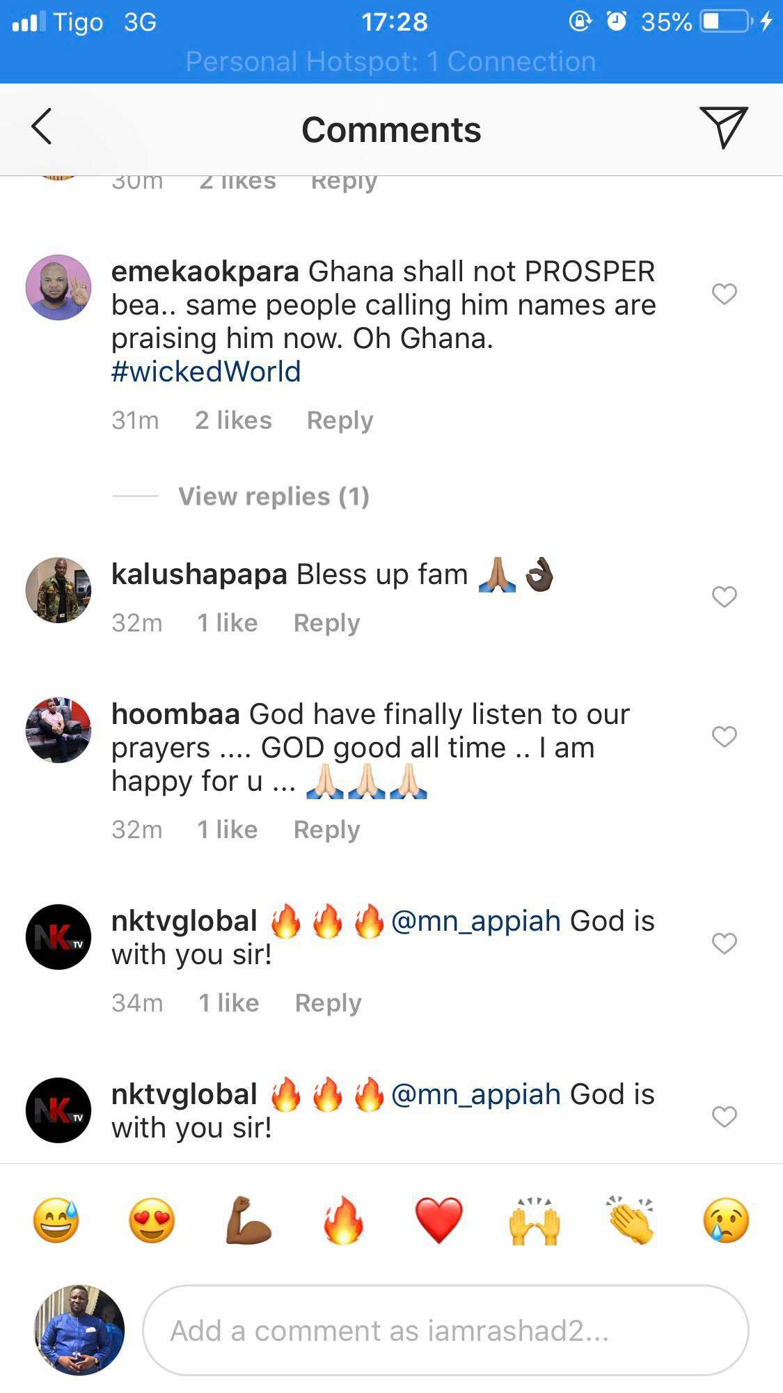 How Ghanaians are reacting to the second coming of NAM1