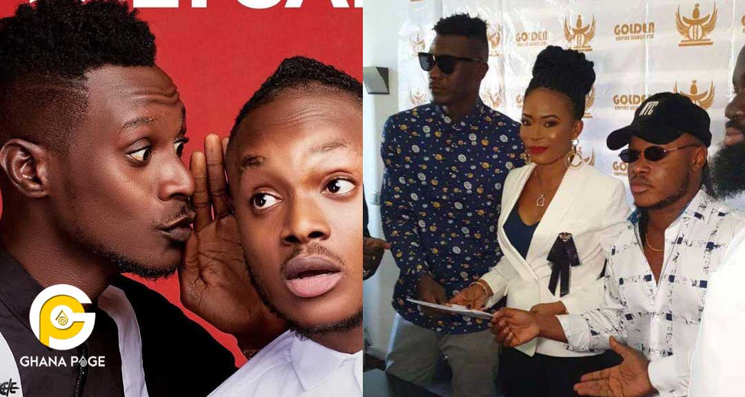 Keche 1 - Keche signs juicy record deal with Golden Empire which includes GH¢2.5m,mansion & saloon car