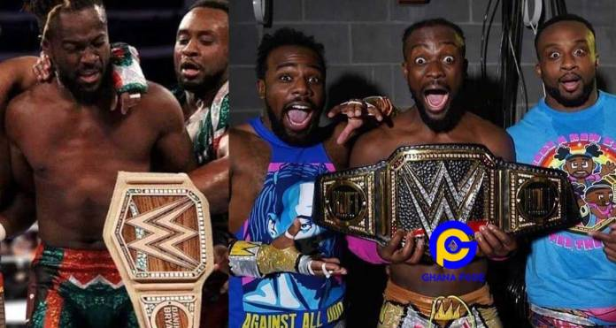 Video: Kofi Kingston is the 2nd black man and 1st Ghanaian to become WWE Champion after beating Daniel Bryan