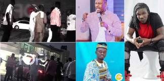 Zack Gh,Boss nation men storm Nigel Gaisie's church