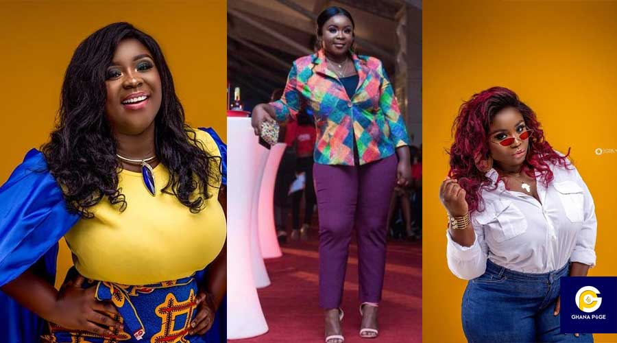 MAAME SERWAA WEIGHT PHOTO - Social media users criticize Maame Serwaa's latest photo