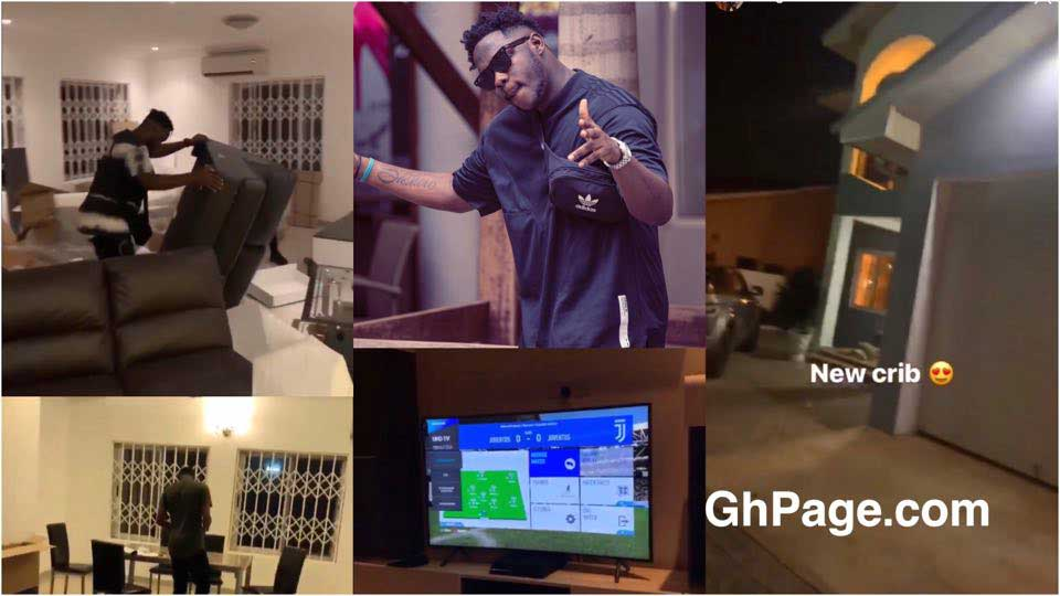 Medikal new house - Medikal acquires and flaunts his new house on social media