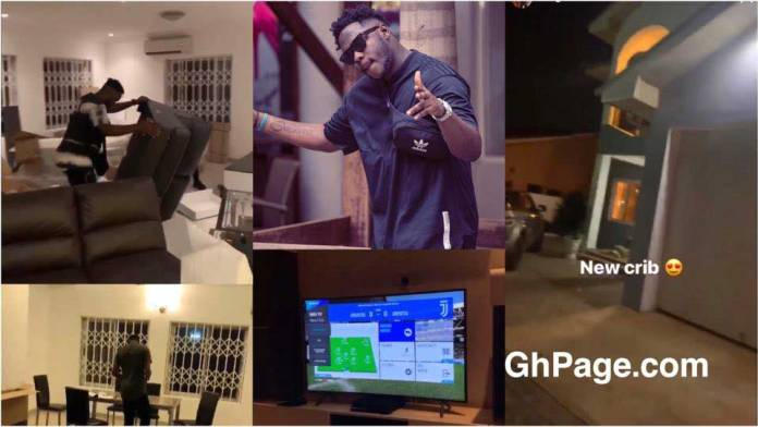 Medikal buys and flaunts his new house on social media
