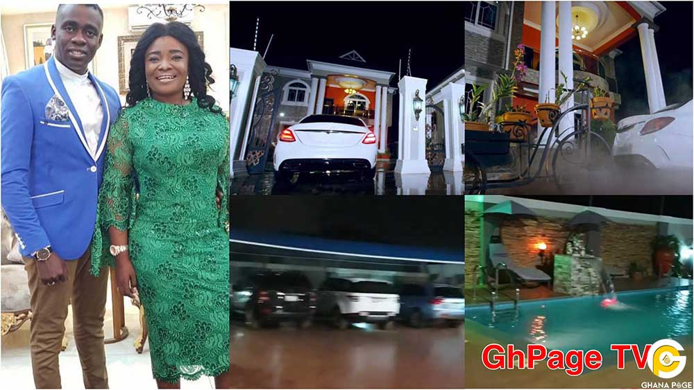 Ohemaa Mercy Mansion Cars video - Ohemaa Mercy's plush mansion and expensive cars