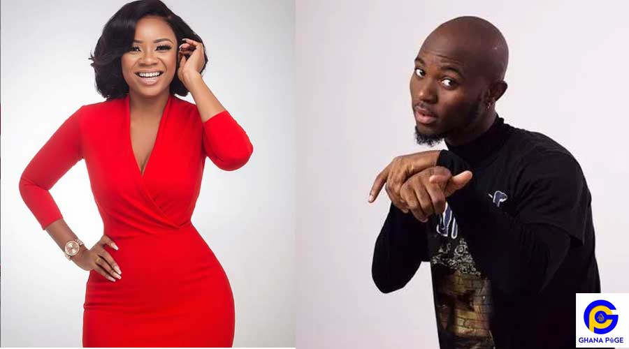 SERWAA AMIHERE KING PROMISE - King Promise and Serwaa Amihere allegedly dating