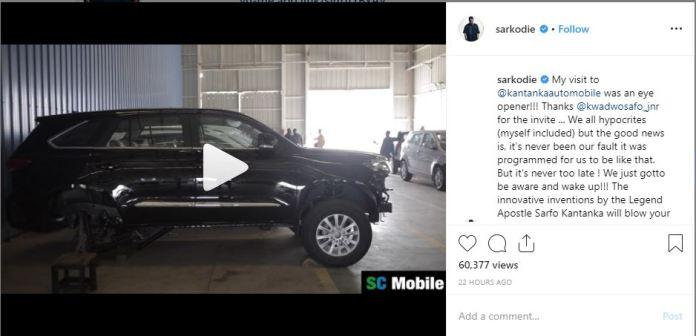 Sarkodie - Sarkodie pays official visit to Kantanka automobile