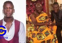 Stonebwoy to headline Otumfour Osei Tutu II's 20th-anniversary concert on 26th April in Kumasi