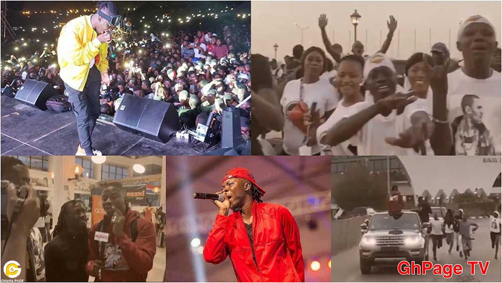 Stonebwoy The Gambia Ecofest - Stonebwoy gets heroic welcome in the Gambia,performs to thousands of fans at Ecofest 2019