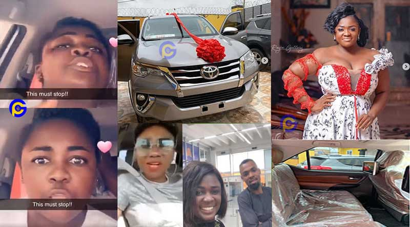 TRACEY BOAKYE CAR LADY advise - Tracey Boakye sends strong warning to her critics; gets equal reply