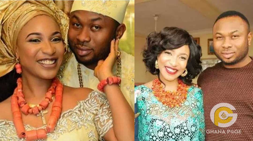 Tonto and husband - Police to arrest Tonto Dikeh for theft and forgery