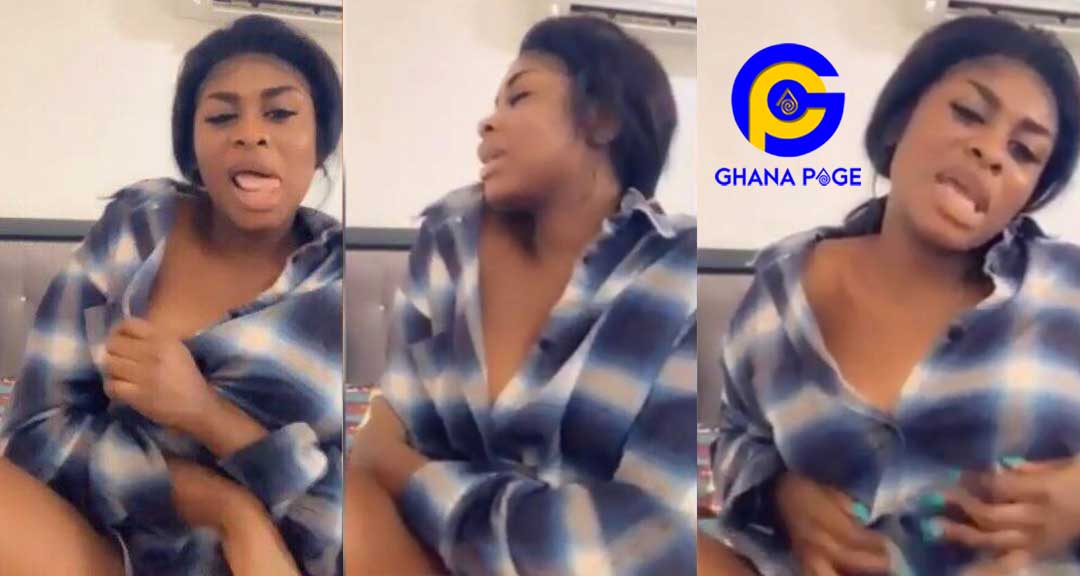 Yaa Jackson - A wild seductive video of Yaa Jackson shaking to her new song hits online
