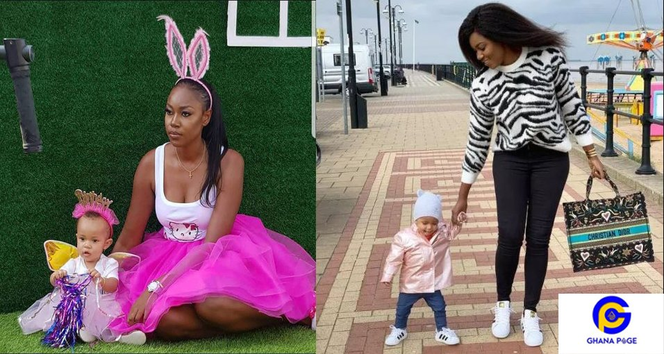 Yvonne Nelson and daughter1 - I will sue anyone who speaks ill of my daughter – Yvonne Nelson