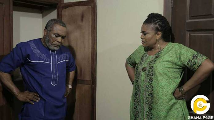 Zack Orji and Ngozi - Top actors who played couples on TV and got married in real life