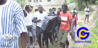 22-year-old man drowns in the Densu river while trying to impress girlfriend at Koforidua [Photos]